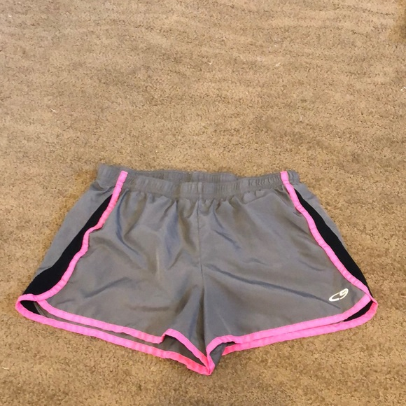 Champion girls running shorts with liner - 14/16